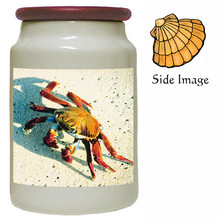 Crab Canister Jar