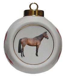 Oldenburg Porcelain Ball Christmas Ornament