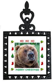 Bear Christmas Trivet
