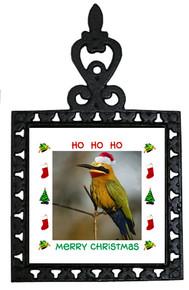 Bee Eater Christmas Trivet