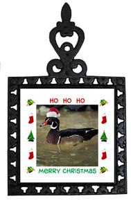 Duck Christmas Trivet