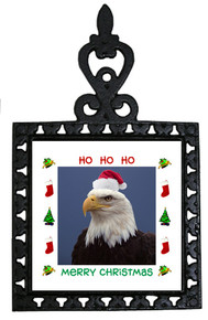 Eagle Christmas Trivet