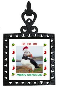 Atlantic Puffin Christmas Trivet