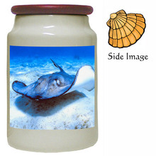 Stingray Canister Jar