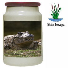 Alligator Canister Jar