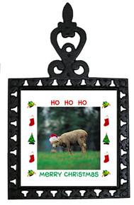 Sheep Christmas Trivet