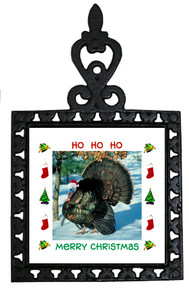 Turkey Christmas Trivet