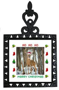 Deer Christmas Trivet