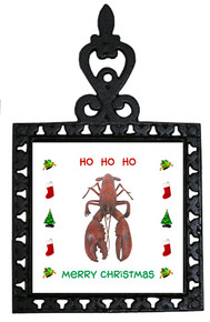 Lobster Christmas Trivet