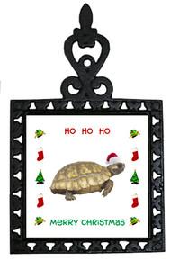 Turtle Christmas Trivet