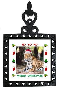 Jaguar Christmas Trivet