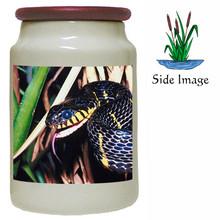 Mangrove Snake Canister Jar