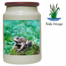 Toad Canister Jar