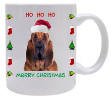 Bloodhound Christmas Mug