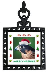 Falcon Christmas Trivet