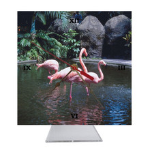 Flamingo Desk Clock