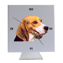 Beagle Desk Clock