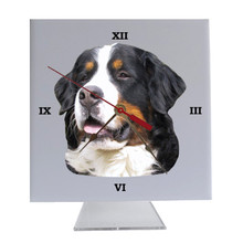 Bernese Mountain Dog Desk Clock