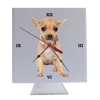 Chihuahua Desk Clock
