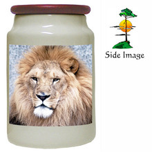Lion Canister Jar