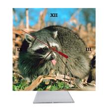 Raccoon Desk Clock