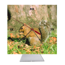 Squirrel Desk Clock