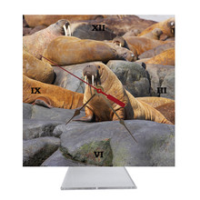 Walrus Desk Clock