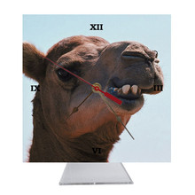 Camel Desk Clock