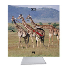 Giraffe Desk Clock