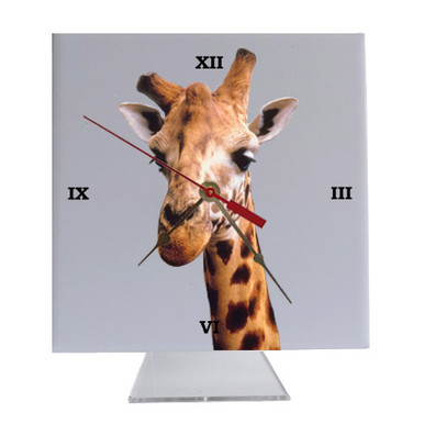 Giraffe Desk Clock
