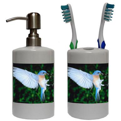 Bluebird Bathroom Set