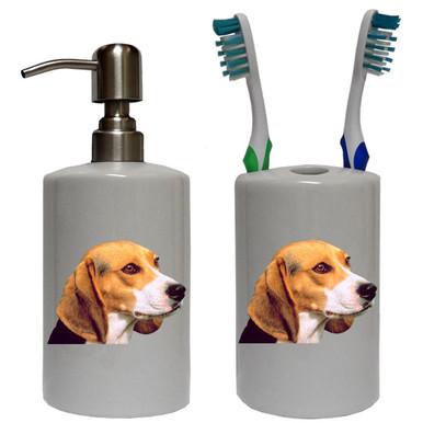 Beagle Bathroom Set