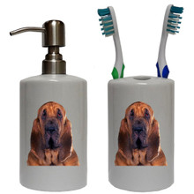 Bloodhound Bathroom Set
