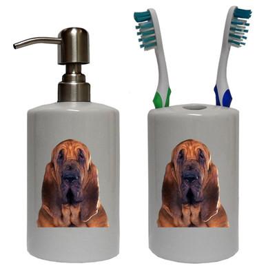 Bloodhound Bathroom Set