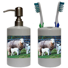 Lamb Bathroom Set