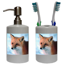 Fox Bathroom Set