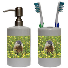 Groundhog Bathroom Set
