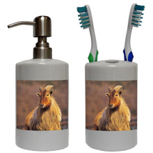 Mountain Goat Bathroom Set