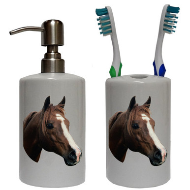 Horse Bathroom Set