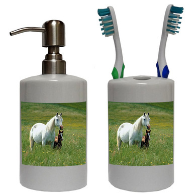 Horse Bathroom Set
