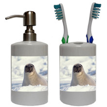 Seal Bathroom Set