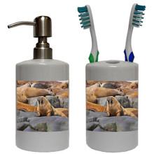Walrus Bathroom Set