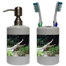 Crocodile Bathroom Set