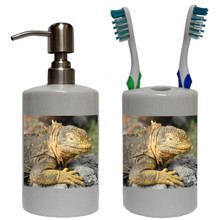 Iguana Bathroom Set