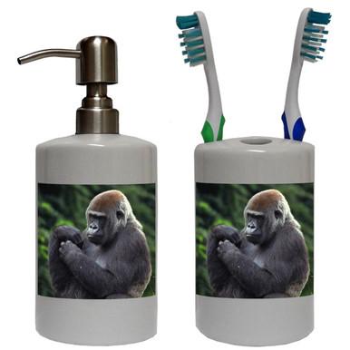 Gorilla Bathroom Set