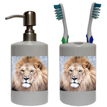 Lion Bathroom Set