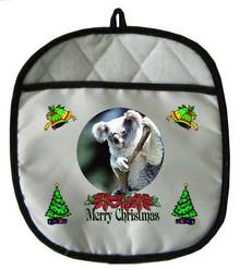 Koala Bear Christmas Pot Holder