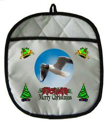Black Headed Gull Christmas Pot Holder