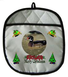 Duck Christmas Pot Holder