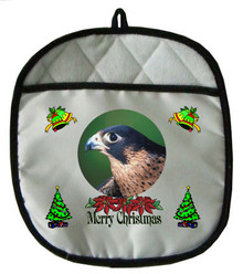 Falcon Christmas Pot Holder